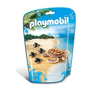 Playmobil Playmobil Animals Turtle with young