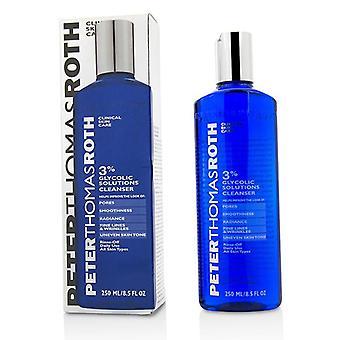 Peter Thomas Roth soluciones glicólico 3% Cleanser - 250 ml/8.5oz