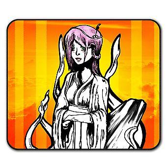 Asian Mystic Girl  Non-Slip Mouse Mat Pad 24cm x 20cm | Wellcoda