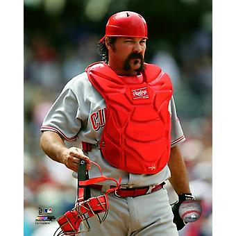 Corky Miller 2013 Action Photo Print