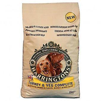 Harringtons hunden Tyrkia og Veg tørr mat Mix-2 kg