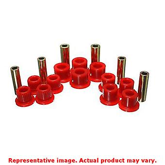 Energy Suspension Blattfeder Buchse Set 4.2147R rot hinten passt: FORD 1999-200
