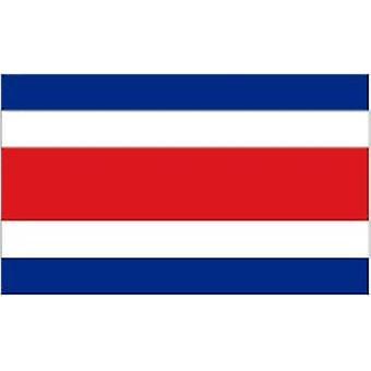 Costa Ricas flagga 5 ft x 3 ft med öljetter för upphängning