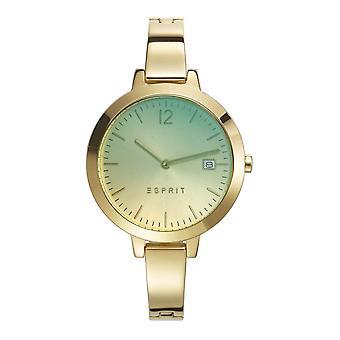 ESPRIT Zegarek bransoletka zegarek złoto stal nierdzewna Amelia ES107242008