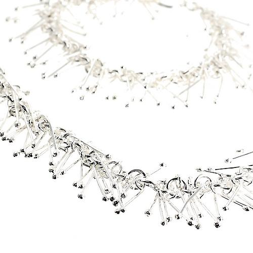 Spike Me Silver Necklace Set