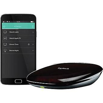 Logitech Harmony HUB Infrared (1076749), Bluetooth® (1075101), Wi-Fi (1335780) Remote control Black