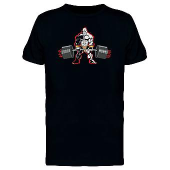 Gorilla With Red Aura Lifting Tee Men's -Image by Shutterstock