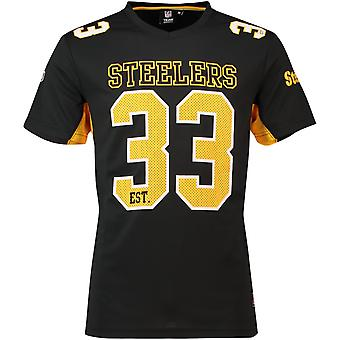 Majestueuze NFL MORO Polymesh Jersey shirt Pittsburgh Steelers