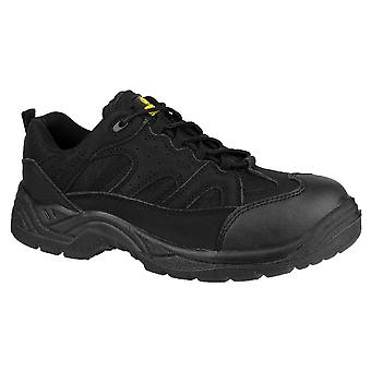 Amblers Mens FS214 Steel Toe & Midsole Safety Trainer SB-P-SRC