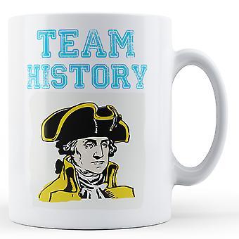 Team History - Printed Mug