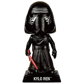 Star Wars Episode 7 wacky Wobbler Bobble figurine Kylo ren manufacturer: FUNKO. Comes in a lovely gift box with window.