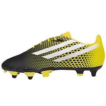 Adidas Performance Mens CrazyQuick Malice sol SG Rugby chaussures souples - noir