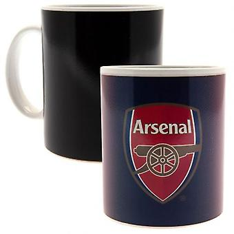 Arsenal Heat Changing Mug GR