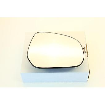 Right Driver Side Mirror Glass (heated) & Holder for OPEL AGILA 2007-2015