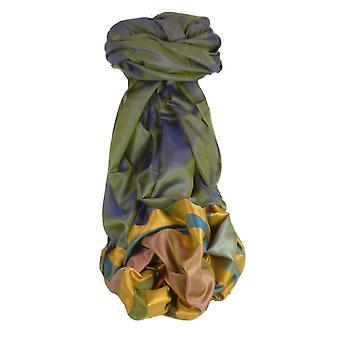 Варанаси границы премьер шелковые длинный шарф наследия Rampersan 407, пашмины & шелка