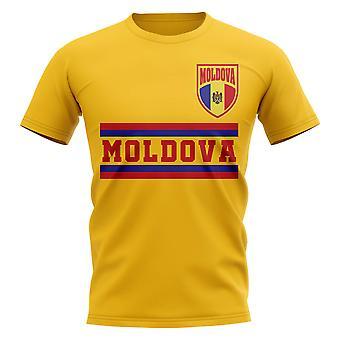 Moldova Core Football Country T-Shirt (Yellow)