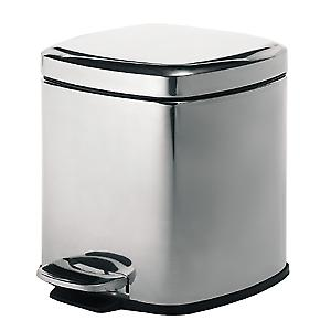 Pedal Bin Square polished 230913