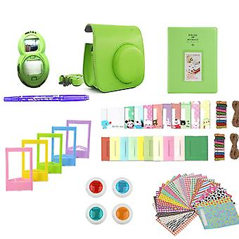 Accessory Pack for Fujifilm Instax Mini 8/9-Lime Green