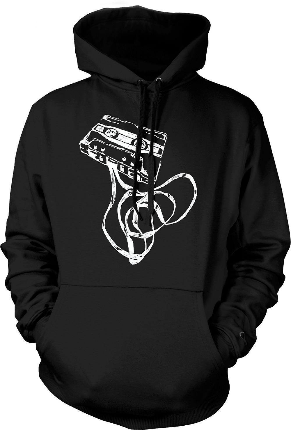 Mens Hoodie - Old Skool Tape