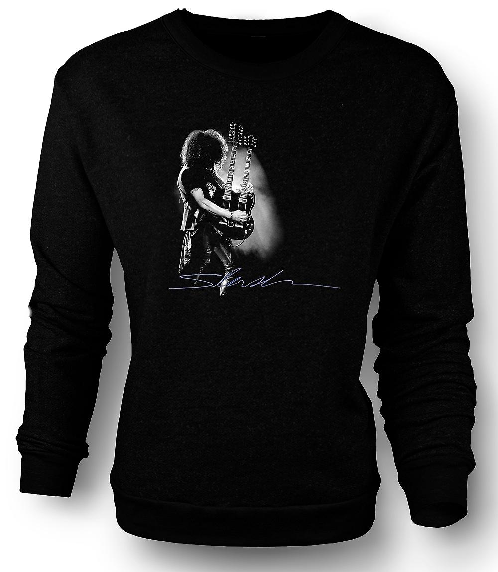 Mens Sweatshirt Guns n Roses - Slash tvilling gitar