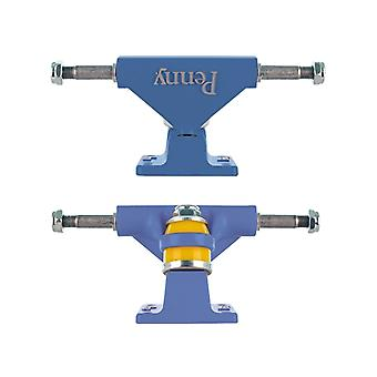 Penny Blue Solid Series - 3 Inch Pair of Cruiser Trucks