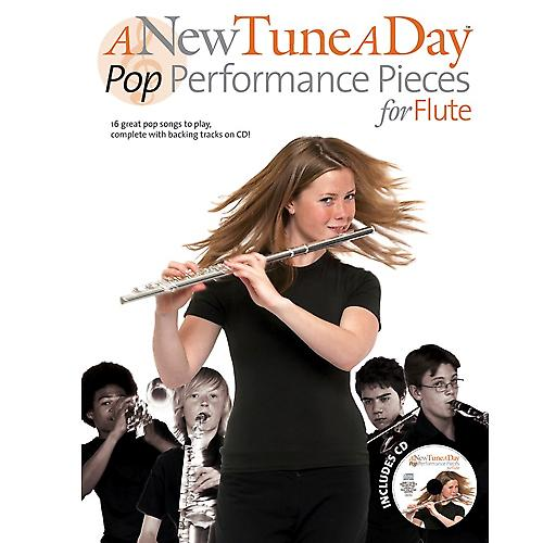 A New Tune A Day Pop PP Flute Book & CD