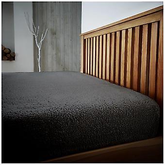 Teddy molleton lit équipé de draps de luxe Extra profond moelleux chaud et confortable toutes tailles