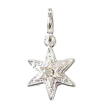 TOC BEADZ Star Dangle Charm With Trigger Clasp