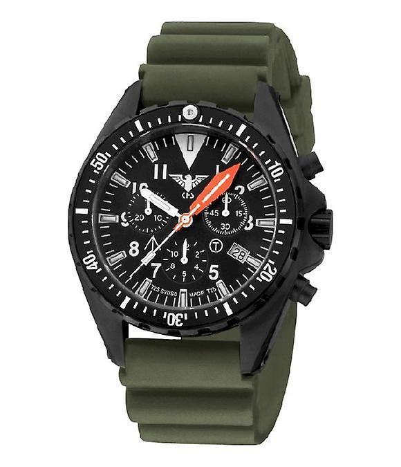 KHS Uhren Herrenuhr MissionTimer 3 OT Chronograph KHS.MTAOTC.DO