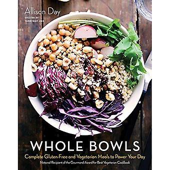 Todo cuencos: Completadas comidas celíacos y vegetarianas para alimentar tu día
