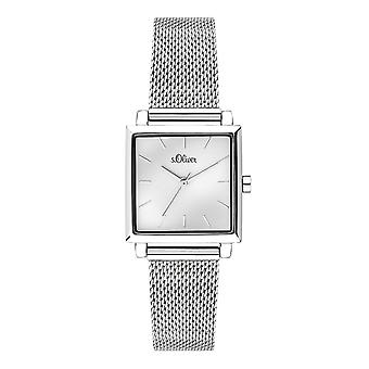 s.Oliver women's watch wristwatch stainless steel SO-3710-MQ