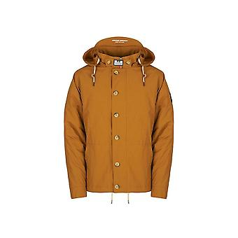 Weekend Offender Brook Jacket In Mustard