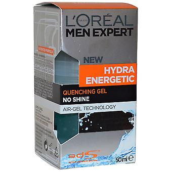 Men Expert by L'Oreal Hydra Energetic Quenching Gel 50ml