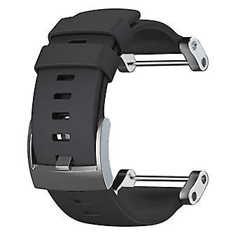 Suunto Core Unisex Strap, Black, Flat, One Size