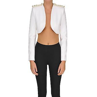 Adidas By Stella Mccartney White Polyester Blazer