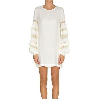 P.a.r.o.s.h. White Acetate Dress