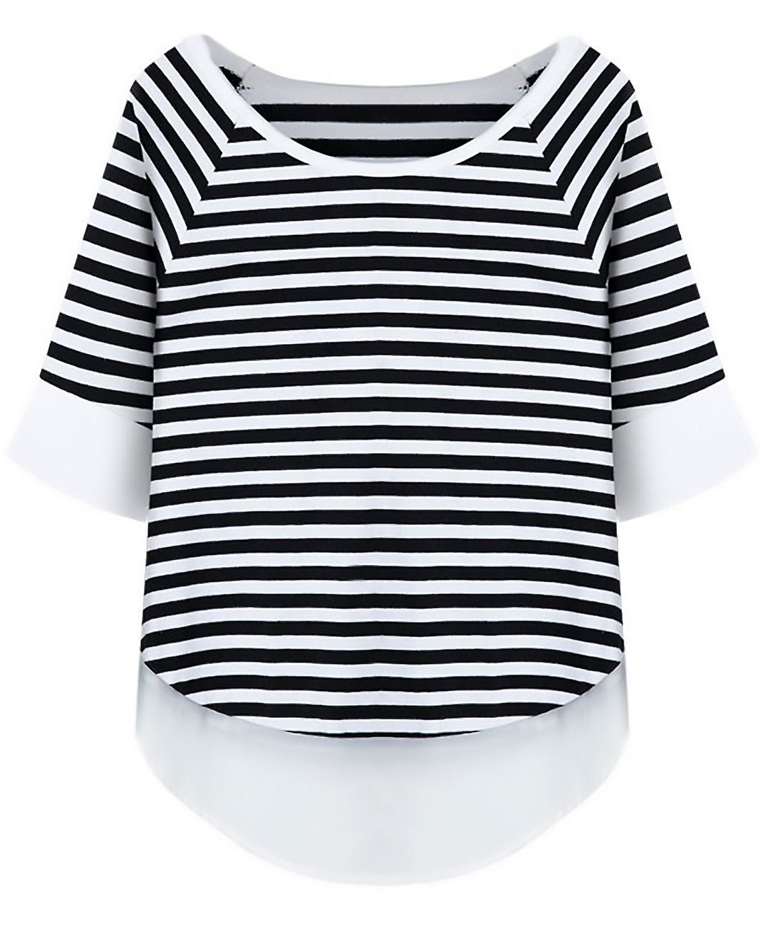 Small striped bicolor coat pattern Peach