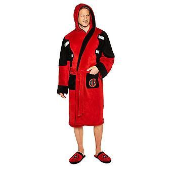 Marvel Deadpool Fleece Dressing Gown  - ONE SIZE