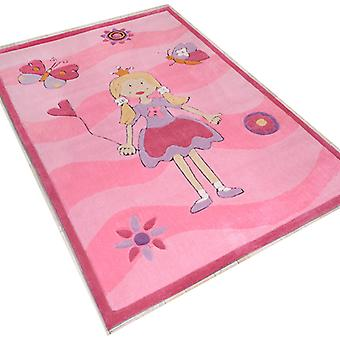 Rugs -Children\'s Princess Pink - 3035