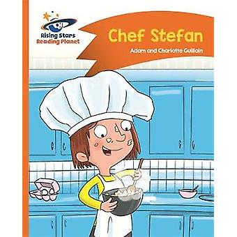 Reading Planet - Chef Stefan - Orange - Comet Street Kids by Adam Guil