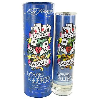 Kjærlighet & hell av Christian Audigier Eau De Toilette Spray 3,4 oz/100 ml (menn)
