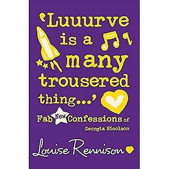'Luuurve Is a Many Trousered Thing...' (Confessions of Georgia Nicolson)