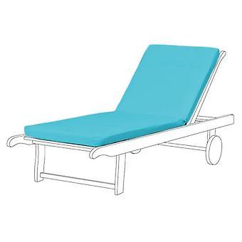 Gardenista® turkoosi vedenkestävä istuin pad Sun Lounger