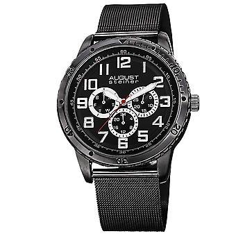 August Steiner Men's Watch AS8115BK