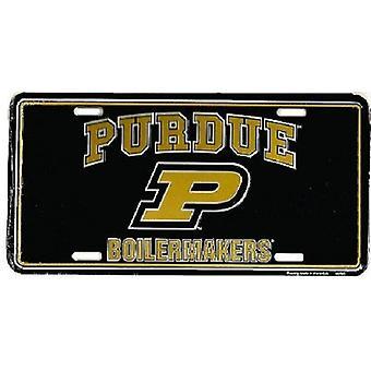 Purdue Boilermakers NCAA lisens plate