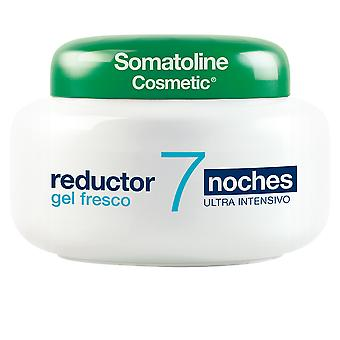 Somatoline Gel Fresco Reductor Ultra Intensivo 7 Noches 250 Ml For Women