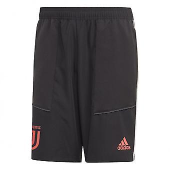 2019-2020 Juventus Adidas Woven Shorts (Black)