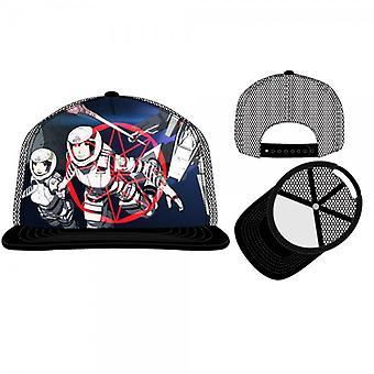 Baseball Cap-ridders van Sidonia-zwarte Trucker Hat speelgoed qt2l7akns