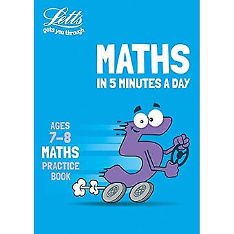 Letts Maths in 5 Minutes a Day - Letts Maths in 5� Minutes a Day Age 7-8 (Letts Maths in 5 Minutes a Day)