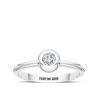 University Of Notre Dame - Fighting Irish Engraved Diamond Ring